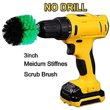 3inch cleaning brush spin scrubber elektrische. Black Bedroom Furniture Sets. Home Design Ideas