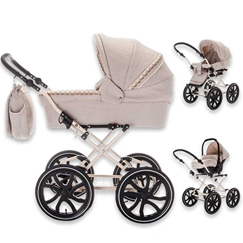 Friedrich Hugo baby's moving art Kombikinderwagen Natureline Uni im Test