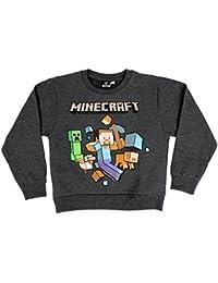 Minecraft Oficial Aventura Niños Camisetas Camiseta De Manga Larga Top  c8ff7043da9a0