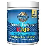Kinder, Primal Defense, Probiotische Formel, Naturbananengeschmack - Garten des Lebens