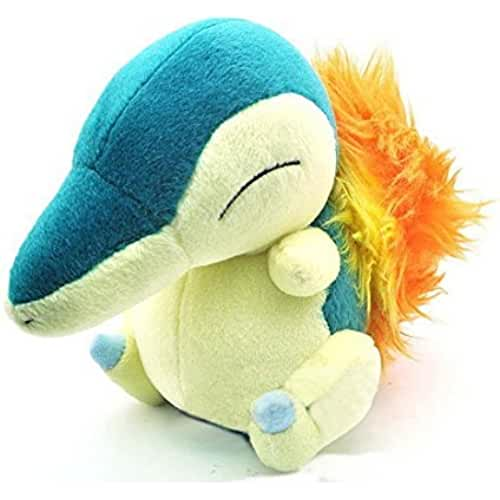 Pokemon Diamond And Pearl Plush Toy - 7 Cyndaquil Soft Toy Doll by Halie