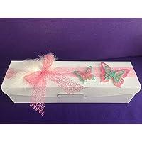 Aufbewahrung für Kerzen - Geschenkverpackung für Kerzen - Aufbewahrungsbox - Box - Kerzenkarton - Karton mit Schaumstoff für die Größen 30 x 8 cm - 30 x 7 cm - 25 x 7 cm