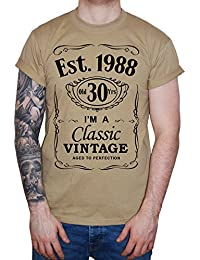 Image is Everything IiE, 30th Birthday, EST. 1988, Vintage Year, Mens Gift T-Shirt,
