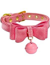 Collares para Mascotas Accesorios, ♥ ♥ Zolimx PU Cuero Collar de Perro Cachorro para Mascotas