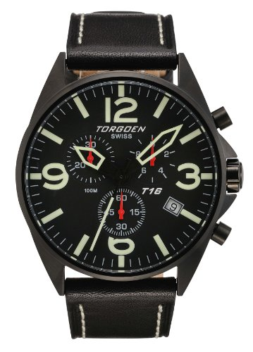 Torgoen T16101 - Cronografo da uomo