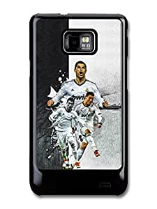 Cristiano Ronaldo Collage Football coque pour Samsung Galaxy S2