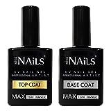 Miss Nails Obere und untere Beschichtung, 15 ml, für UV LED Nagellack