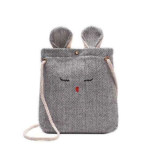 Luckycat Mini Bolso Teléfono Móvil Bandolera Mujer