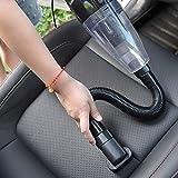 Clkjcar Aspirapolvere per auto, con filtro HEPA, con aspirazione forte da4000PA, per pulire...