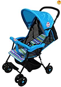 Baybee Shade - Baby Buggy Stroller (Blue)