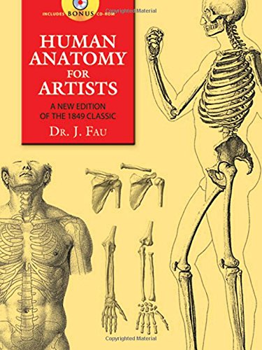 Human Anatomy for Artists: A New Edition of the 1849 Classic (Dover Anatomy for Artists)