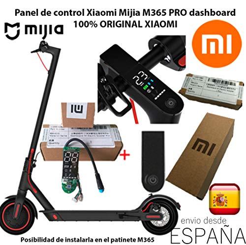 Xiaomi Pantalla Coberta Placa Panell de Control Dashboard 100% Original Scooter Pro M365 Mijia + Tapa / coberta