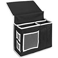deexop 6tasche organizer comodino Materasso libro Remote Caddy - Planner Pad Organizzatore