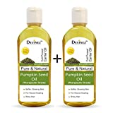 Devinez Pumpkin Seed Oil, 110ml x 2-100% Pure, Natural, Undiluted, Therapeutic Grade, Cold