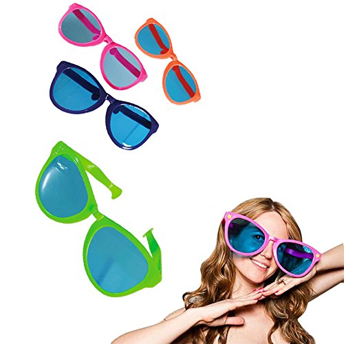 OOTB Riesige Brille XXL - Jumbo Spassbrille - Einzeln Verkauft - Disco Parties Verkleidung