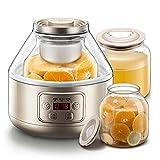 LiRuiPeng Yogurteras GWDJ Máquina de enzimas caseras de Gran Capacidad Yogurt Maker Máquina de Yogur automática caseras Fermentación de Frutas (Color : Oro)