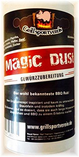 BBQ Rub Magic Dust, especias Preparación