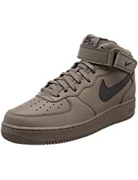 Nike Air Force 1 Mid '07, Sneakers Basses Homme, Blanc, 48.5