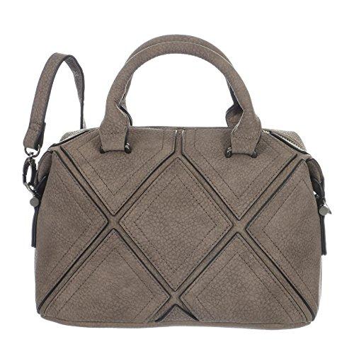 Betty Barclay Zip Bag grau
