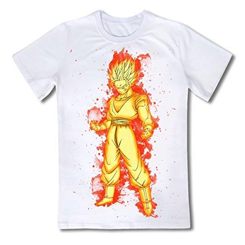 Preisvergleich Produktbild CoolChangeDragon Ball T Shirt, Motiv: Super Saiyajin, Größe: L