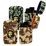Easy Torch 8 Camouflage Sturmfeuerzeug in 2 Tarnfarben - , Farbe Easy Torch Camouflage:Braun / Schwarz