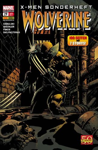 X- Men Sonderheft #29: Wolverine (2011, Panini)