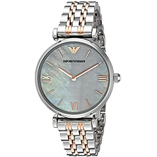 Emporio Armani Gianni T-bar Analog Multi-Colour Dial Women's Watch – AR1987