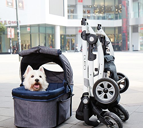 IbiyayaExpress Travel System Denim Pet Stroller 3