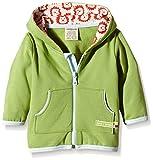 loud + proud Unisex Baby Jacke Sweat, Gr. 56 (Herstellergröße: 50/56), Grün (Moos mo)