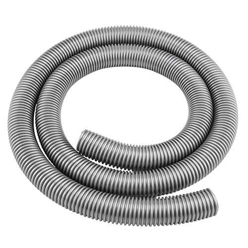 Fdit Flexibler Schlauch Weichrohr Innen 32 mm Außen 39 mm Haushalt Staubsauger Zubehör Universal 2 m Ersatz Flexible Knick- und Auslaufsicher (Sweeper-schlauch)