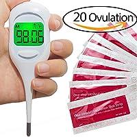 Wagen Basal Thermometer und 20 Ovulationtest (25mIU/ml) - für übernehmen sie die fruchtbarkeit, zu versuchen schwanger... preisvergleich bei billige-tabletten.eu