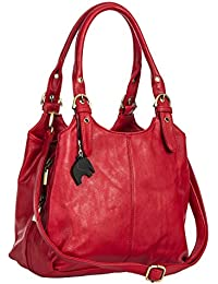 Amazon.co.uk: Red - Handbags & Shoulder Bags: Shoes & Bags