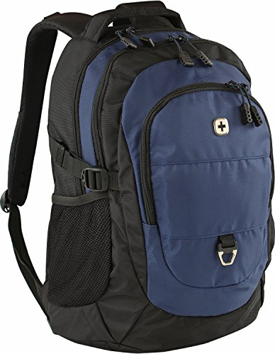 Wenger Back Packs–Mochila con compartimento para ordenador portátil y Tablet Negro/Azul