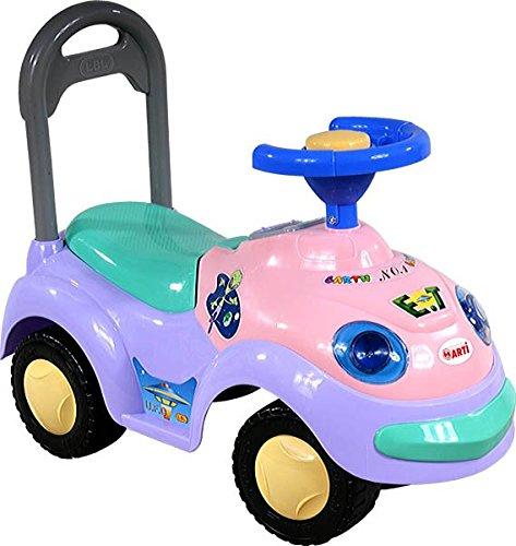 Kinderrutscher Rutschauto Rutscher Rutscherfahrzeug ab 1 Jahr geeignet, mit Hupe (PINK)