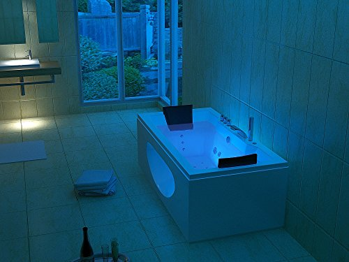 Luxus Whirlpool Badewanne 180x90 in Vollausstattung (Massage) - Sonderaktion - 3