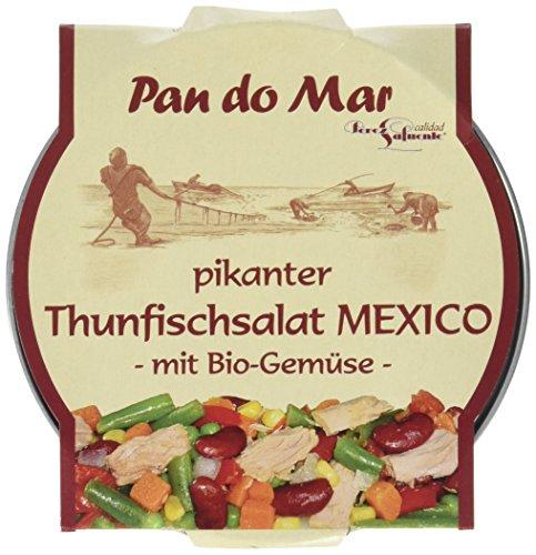 Pan do Mar Pikanter Thunfischsalat Mexico mit Bio-Gemüse, 6er Pack (6 x 250 g)