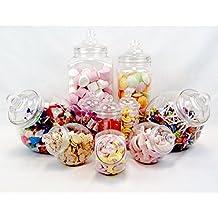 10tarro Vintage Victorian Pick & Mix–Tienda de chucherías de Candy Buffet Kit Party Pack
