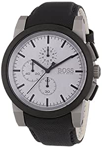 Hugo Boss - 1512978 - Montre Homme - Quartz Chronographe - Bracelet Plastique Noir