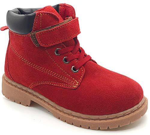 ba249d8488bc24 Kinder Winterschuhe Jungen Mädchen Winterstiefel Winter Warm gefütterte  Leder Stiefel Martin Boots.