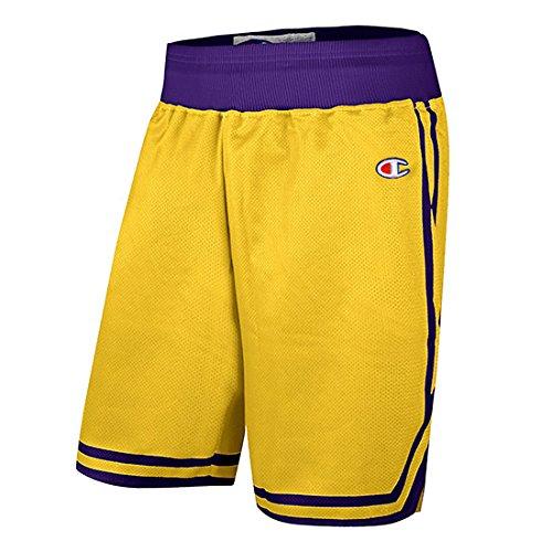 Champion -  Pantaloncini  - Uomo Yellow Large