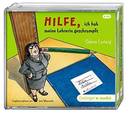 Preisvergleich Produktbild Hilfe,  ich hab meine Lehrerin geschrumpft (4 CD): Ungekürzte Lesung