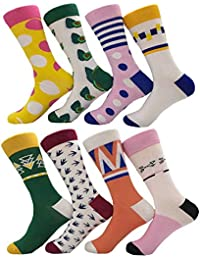 AnaZoz Calcetines Largo Calcetines Unisex Calcetines Hombre Mujer Calcetines Deporte Colorido