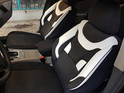 Sitzbezüge k-maniac   Universal schwarz-weiss   Autositzbezüge Set Komplett   Autozubehör Innenraum   Auto Zubehör für Frauen und Männer   NO2023205   Kfz Tuning   Sitzbezug   Sitzschoner