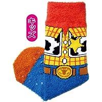 [Los ni?os] calcetines Mokkomoko Disney Woody icono AWDS2565J (jap?n