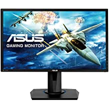 "ASUS VG245Q - Monitor Gaming de 24"" Full HD (1920x1080, 1 ms, Free-Sync, HDMI x2, DisplayPort, D-Sub Flicker-Free, Panel TN, Altavoces, con Base ergonómica), Color Negro"