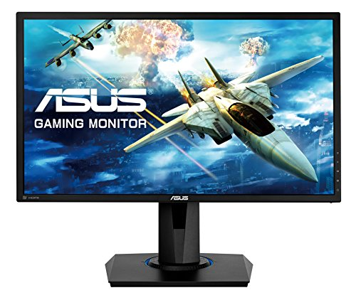 "Asus VG245Q Monitor Gaming 24"", FHD (1920x1080), 1 ms, Fino a 75 Hz, DP, HDMI, D-Sub, Narrow Bezel, FreeSync, Low Blue Light, Flicker Free"