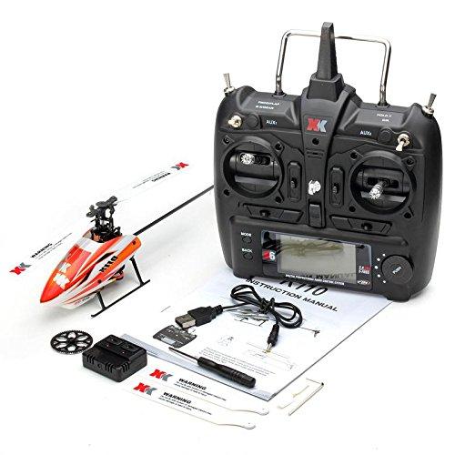 Metermall XK K110 Brushless RC Hubschrauber RTF / BNF für Kinder Kinder Lustige Spielzeug Geschenk RC Drones Outdoor K110 with Remote Control