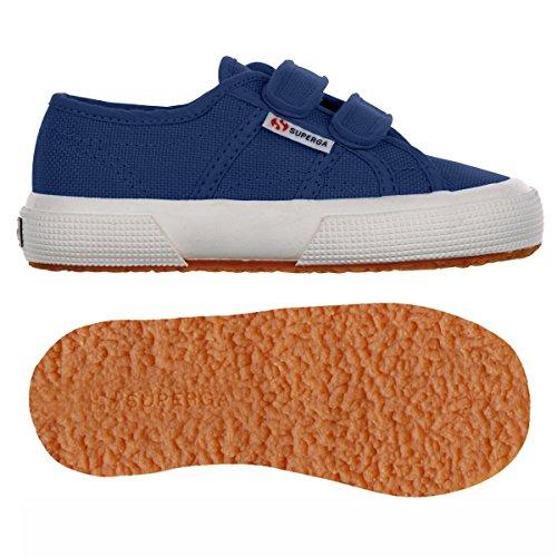 Superga 2750 Jvel Classic, Sneakers Basses mixte enfant BLUE MD COBALT