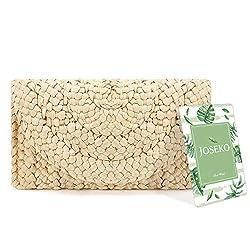 Information: Artikel Art: Handtasche Material: Stroh Farbe: Khaki Gewicht: 100 g Länge: 25cm (10,2 '') Höhe: 17cm (6,9 '') Breite: 3cm (1,18 '') Struktur: Haupttasche Verschluss: Reißverschluss Paket beinhaltet: 1 x Tasche Bitte beachten Sie: Über gr...