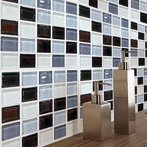 XLZHA 3D Stereo wandaufkleber Selbstklebende tapeten mosaik fliesenaufkleber küchenöl Aufkleber wasserdicht (Holz Ofen Mit Backstein)